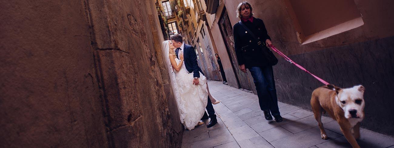 Plener ślubny za granicą Barcelona Najlepszy fotograf