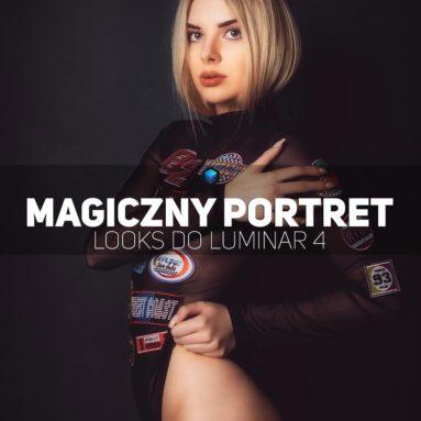 Magiczny portret presety luminar 4 Looks