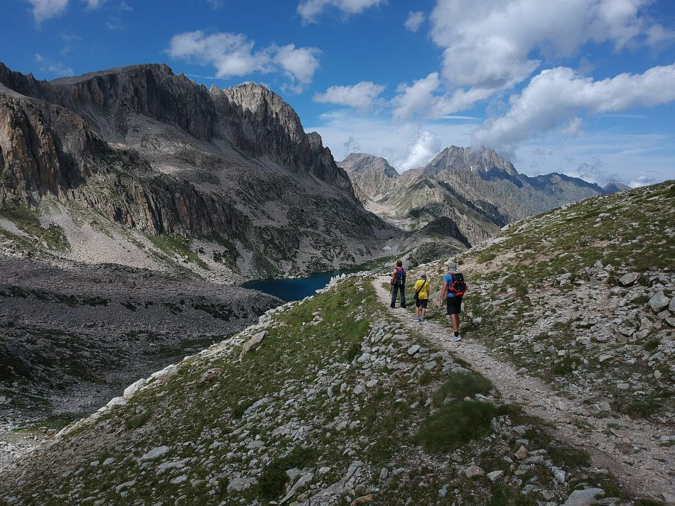 Włochy Alpy Dron Zdjęcie A1
