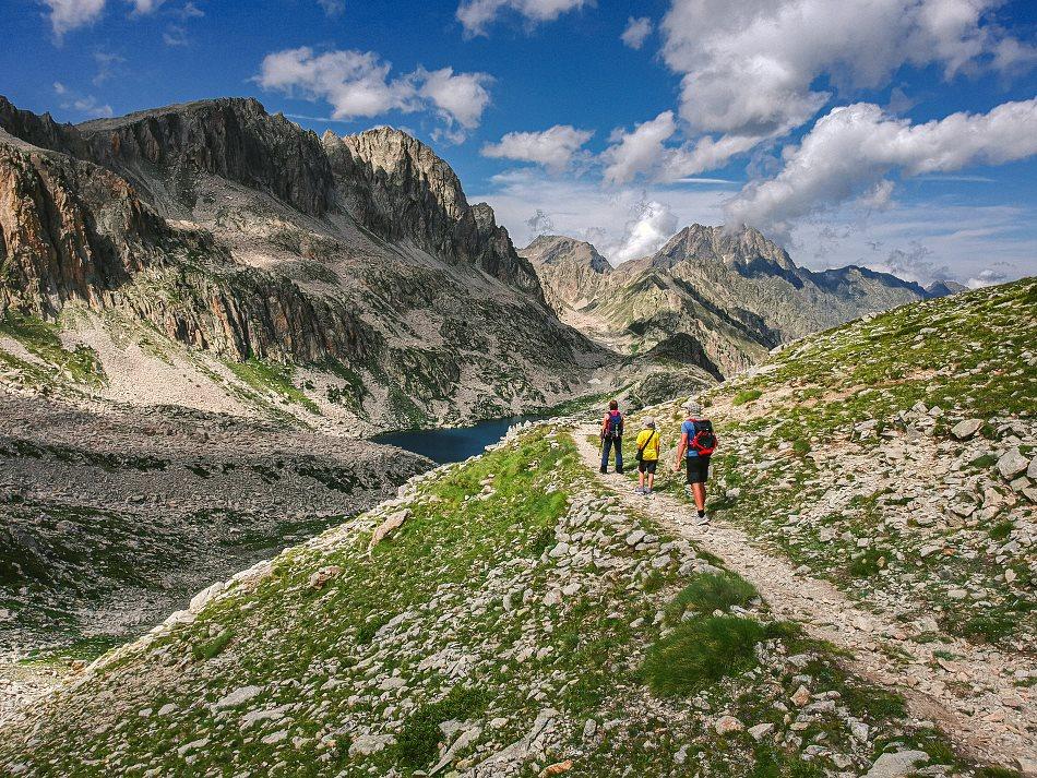 Włochy Alpy Dron Zdjęcie A2
