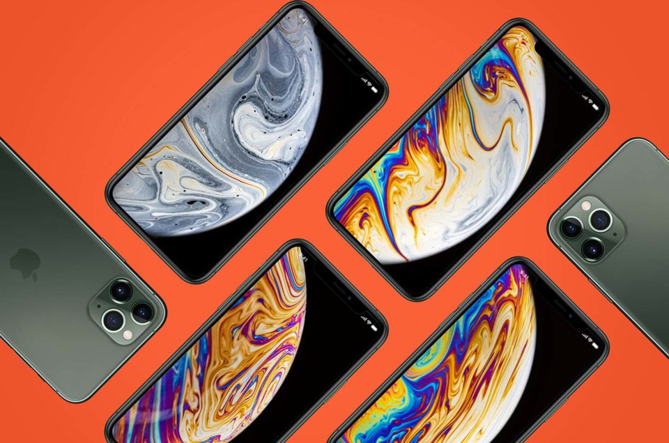 iPhone 11 Xs tapeta makro