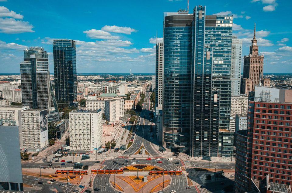 Warszawa z drona Lightroom CC Nauka podstawy edycji