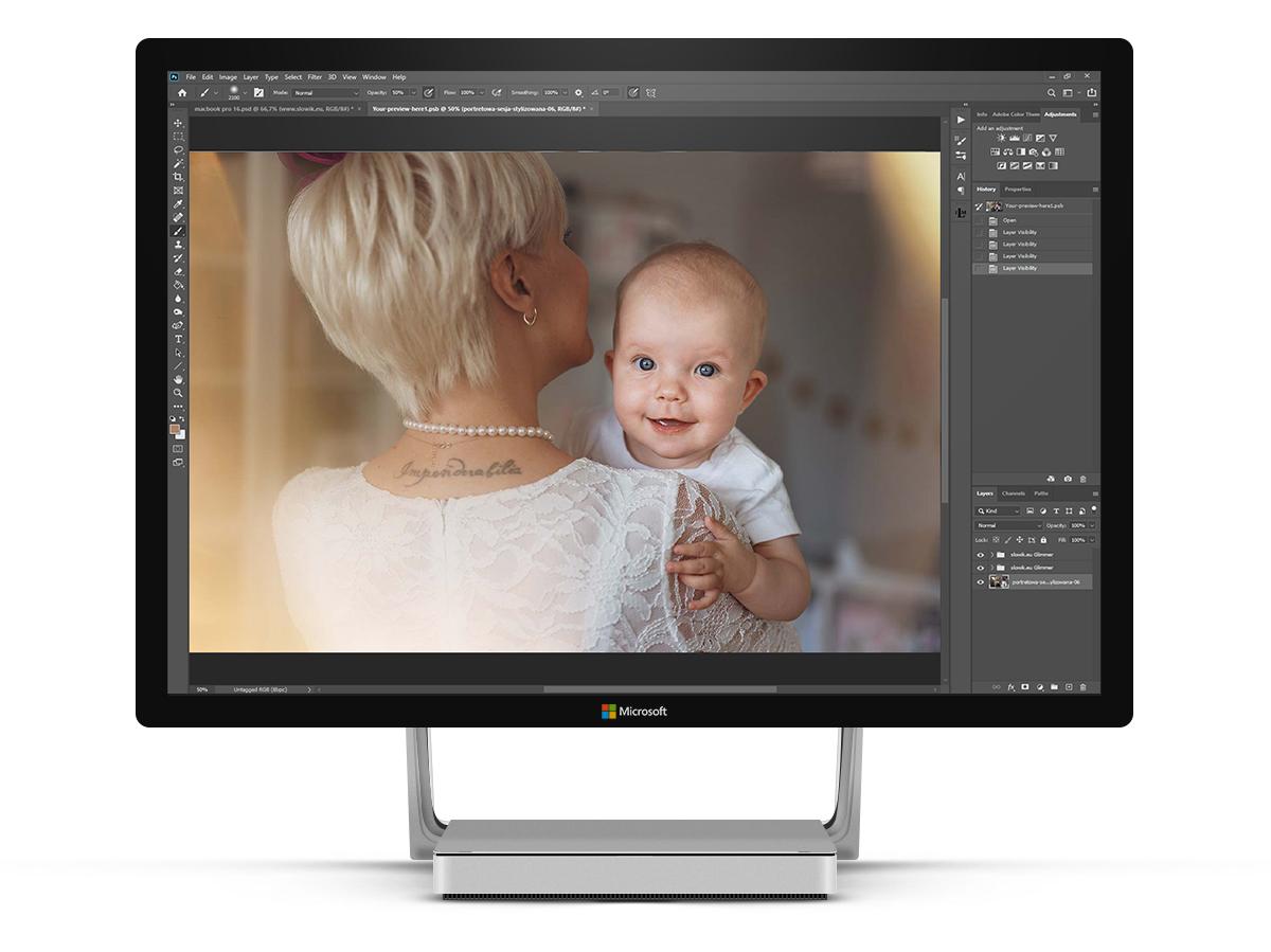 piękne nakładki overlays do Photoshop Luminar Lightroom Capture One