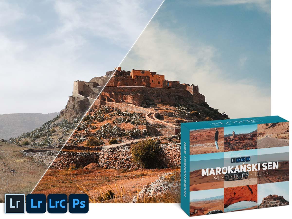 Marokański sen Preset do lightroom Maroko Agadir Marakesz Wakacje