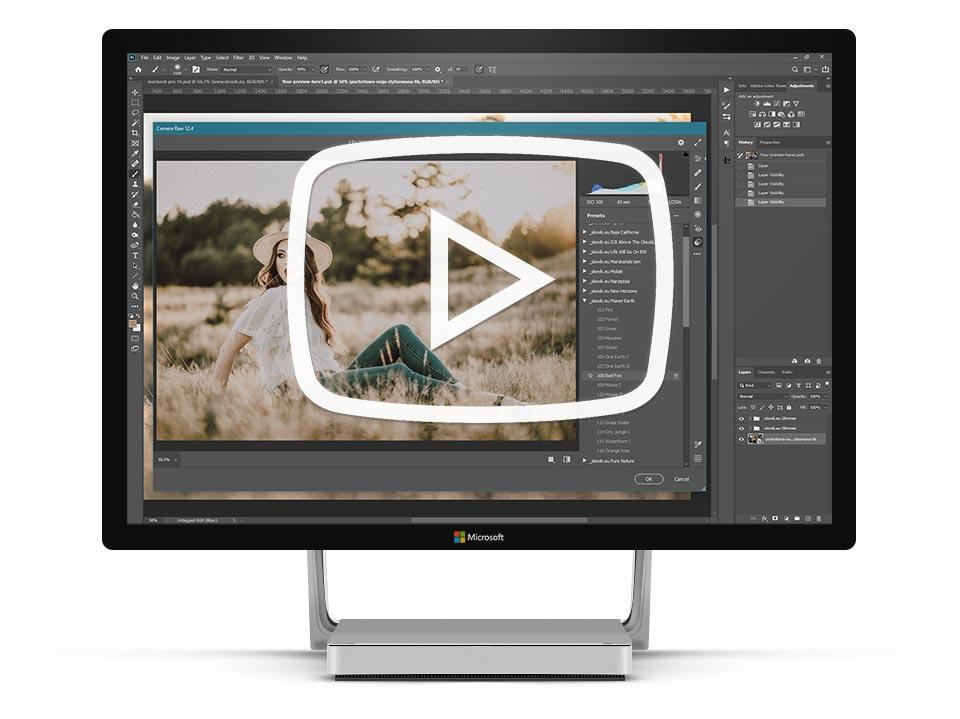 photoshop acr presety