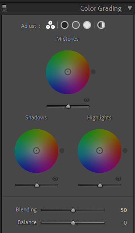 color grading lightroom 10