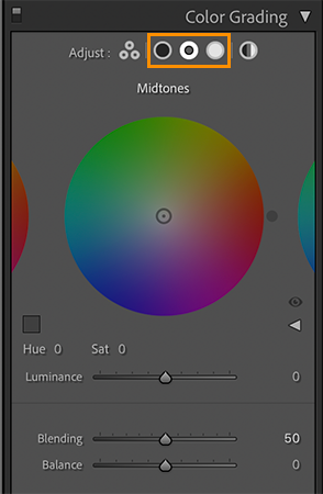 gradacja kolorów lightroom 10