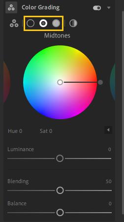 lightroom color wheel Apple MacBook Pro