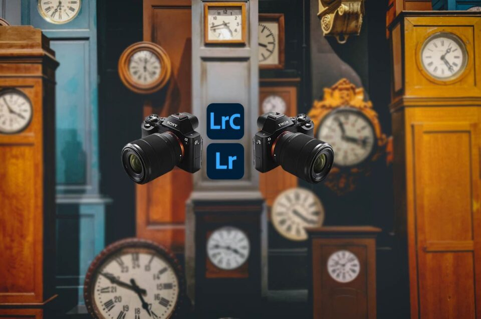 zmiana czasu adobe lightroom