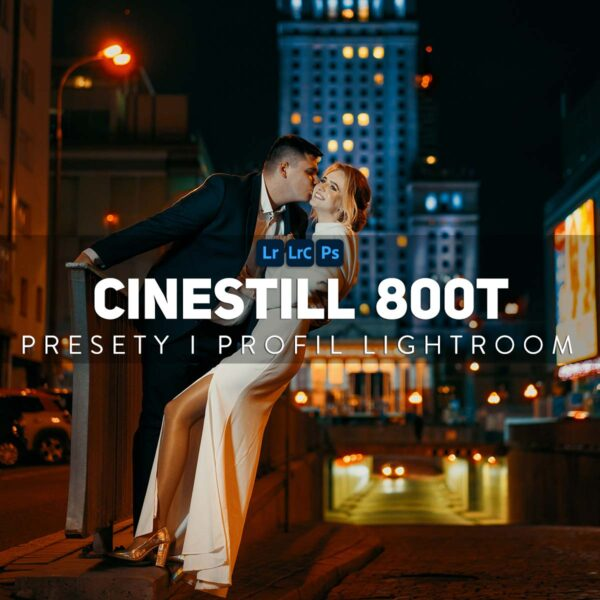CineStill 800T Presety Profile Lightroom Presets