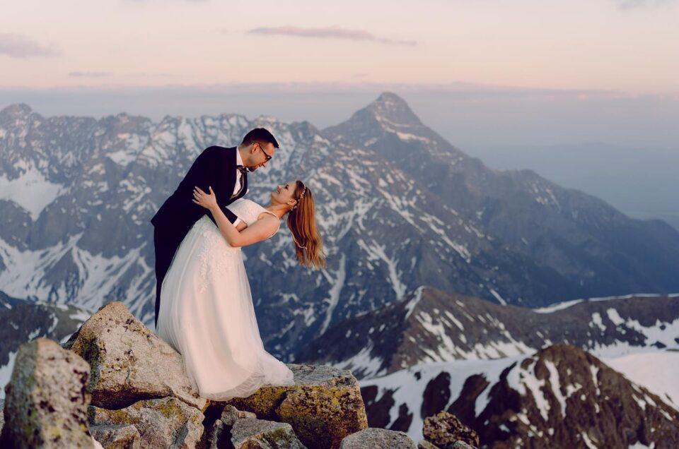 sesja ślubna góry tatry presety