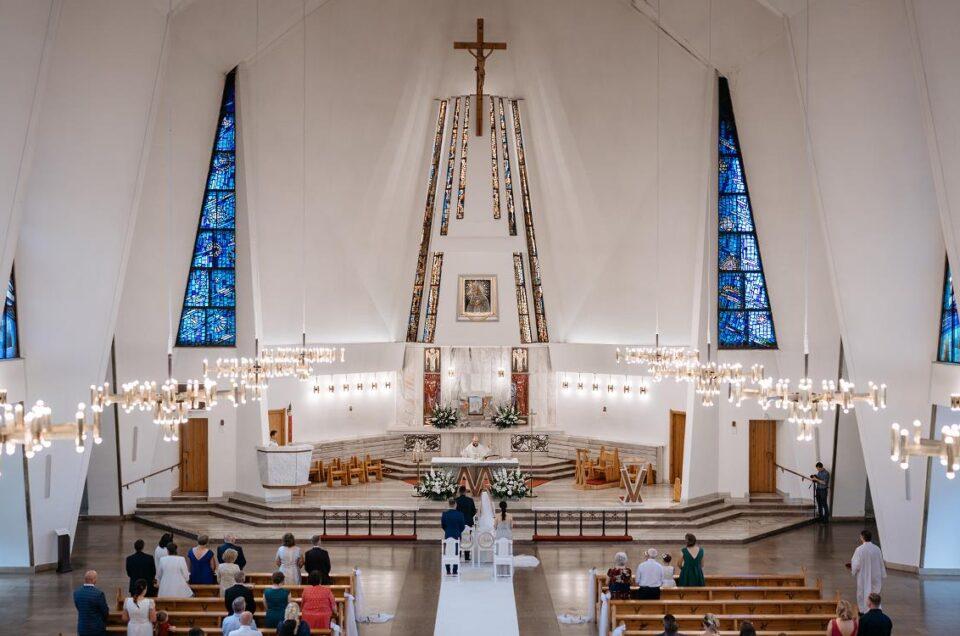 panorama ślub ceremonia
